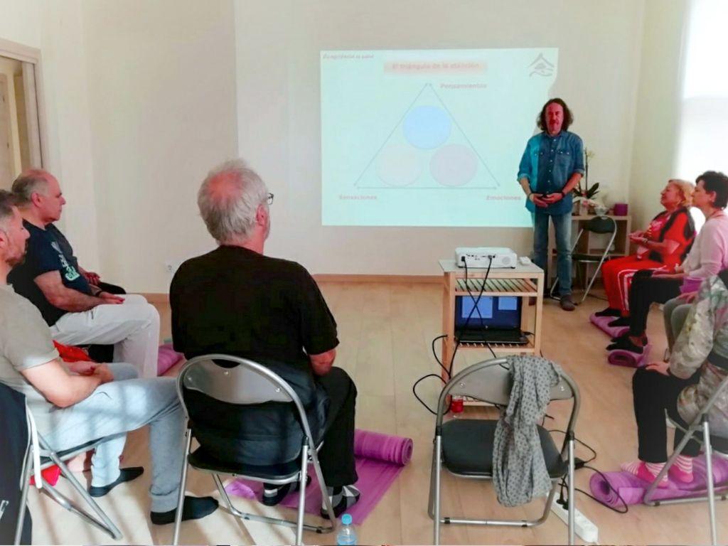 Taller mindfulness Castellar Joan Serrat